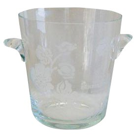 Crystal French Perrier-Jouet Champagne Cooler