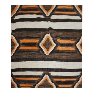 Hand Knotted Navajo Rug by Aara Rugs Inc. - 8′4″ × 11′6″