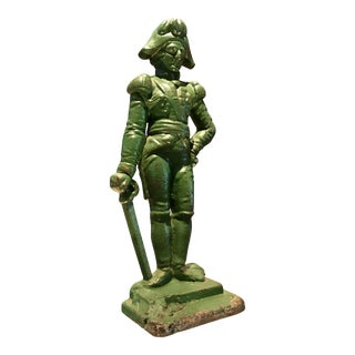 Cast Iron Doorstop - Napoleon
