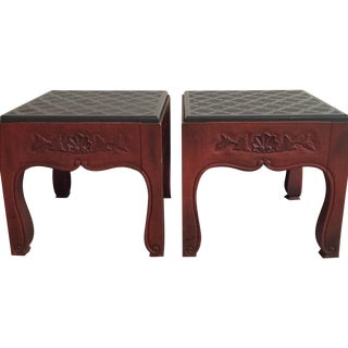 Drexel Side Tables - Pair