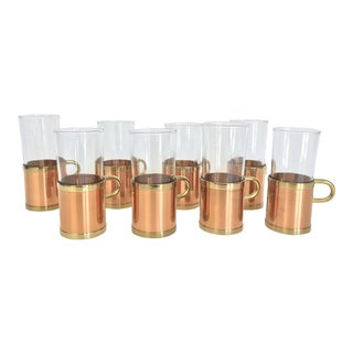 Beucler Irish Coffee Copper Tumblers - Set of 8