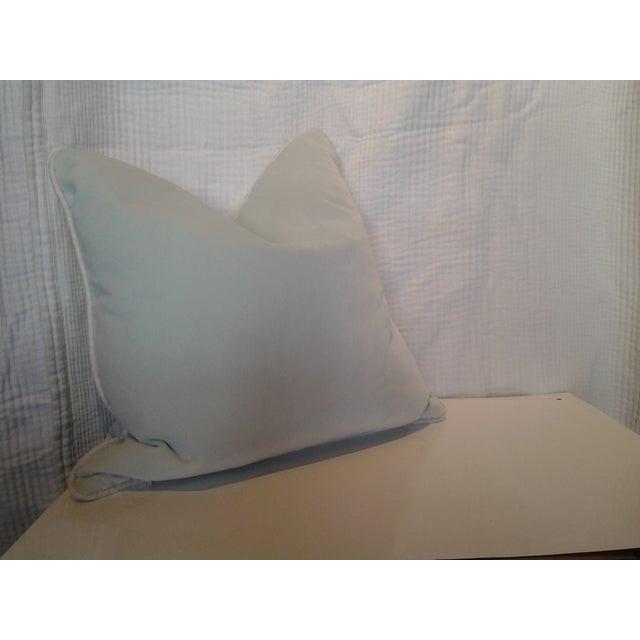 "Image of Robert Allen 18"" Custom Mint Pillow"