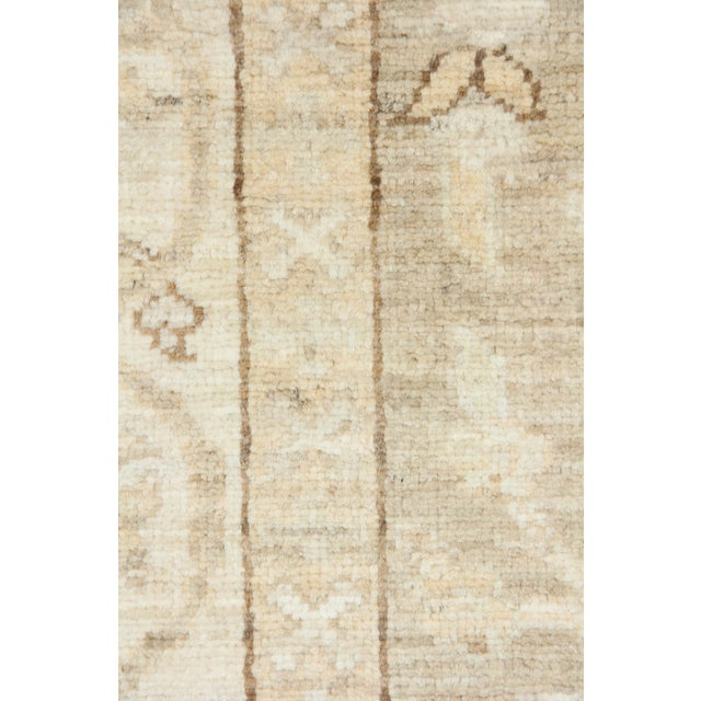 """Oushak Hand Knotted Runner - 2'9"""" X 9'9"""" - Image 3 of 3"""