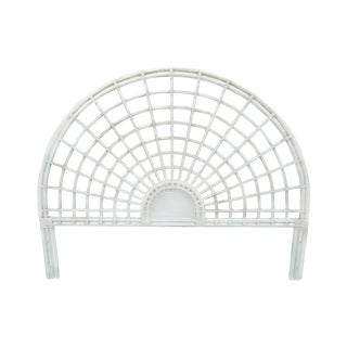 McGuire Vintage White King Size Headboard