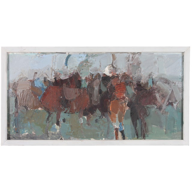 Ebbe Eberhardson Oil Painting - 1967 - Image 1 of 3