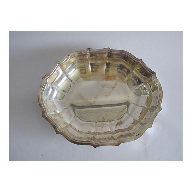 Image of Chippendale Silver Serving Bowl