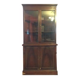 Vintage Corner Curio Display Cabinet