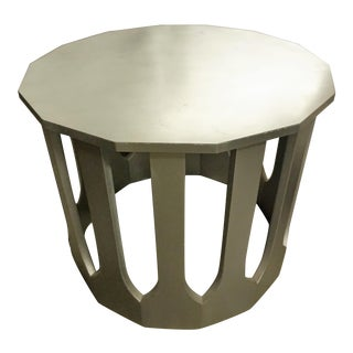 Harvey Probber Silver Center Table