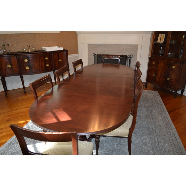 Duncan Phyfe Dining Room Set: 1930 Duncan Phyfe/Federal Style Dining Set