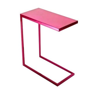 Cromatti Armavi Drinks Table in Raspberry
