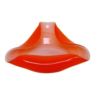 Decorative Italian Glass Bowl