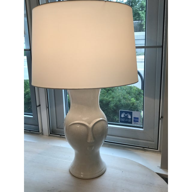 Image of Arteriors Off-White Pauly Lamp
