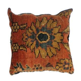 Antique Persian Rug Fragment Pillow
