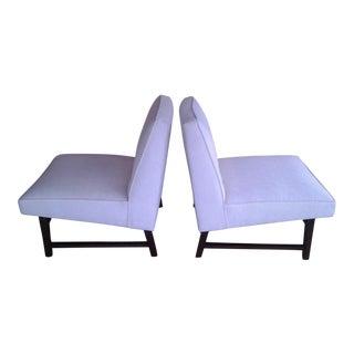 Edward Wormley Dunbar Slipper Chairs - a Pair