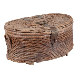 Rattan Basket From India