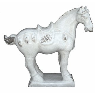 Asian Ming Horse Sculpture