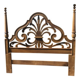 Thomasville Full Size Wood Headboard
