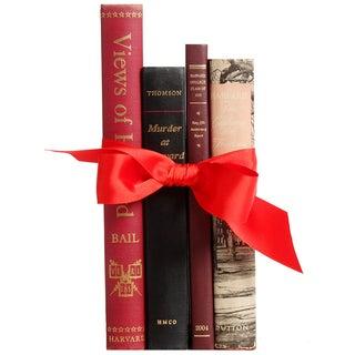 Harvard Life & Lore Books - S/4