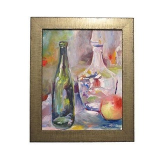 "Mary Houston Acrylic ""Still Life with Decanter"""