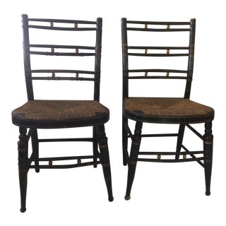 Sheraton Side Chairs - A Pair