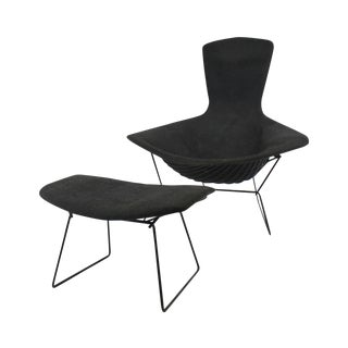Harry Bertoia for Knoll Bird Chair & Ottoman