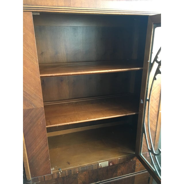 Vintage Waterfall Cabinet or Bar - Image 7 of 9