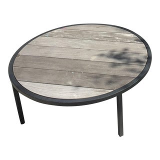 Garden Cocktail Circular Table