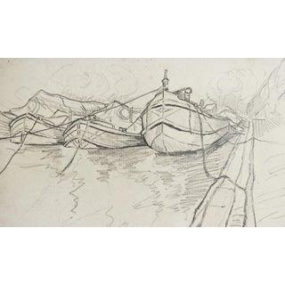 Harbor Pencil Study