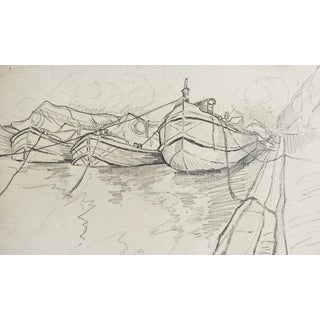 Harbor Pencil Study