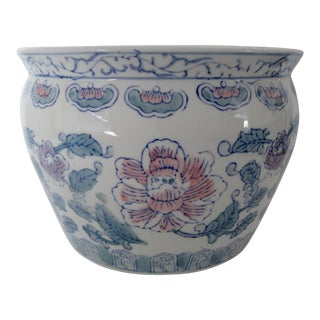 Chinese Glazed Porcelain Planter