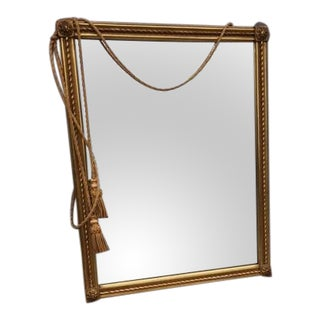 Gold Borghese Mirror With Tassel