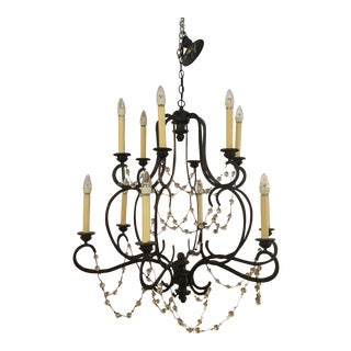 Visual Comfort Niermann Weeks Lombary Double Tiered Chandelier