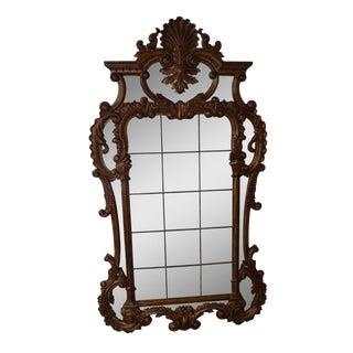 "Theodore Alexander ""The Linnell 'C' Scroll"" George III Gilt Wall Mirror"