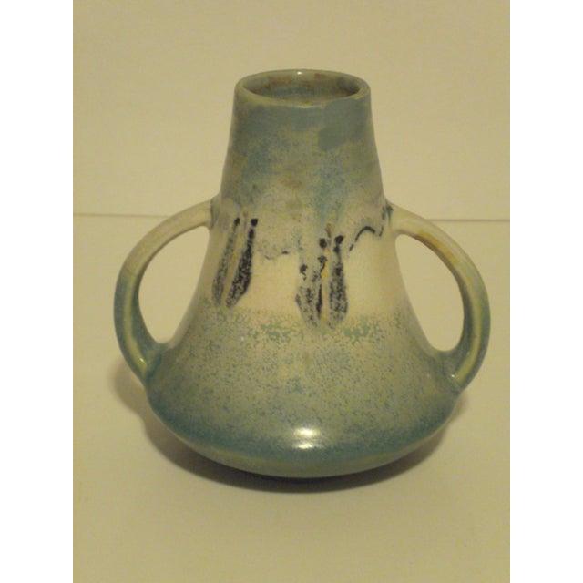 Vintage Aqua Colored Vases - Set of 3 - Image 9 of 11
