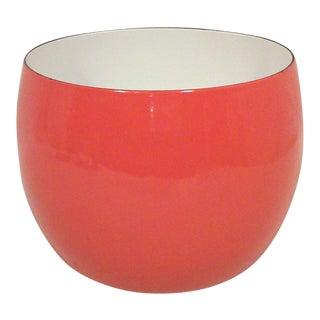 Dansk IHQ Red Enamel Bowl