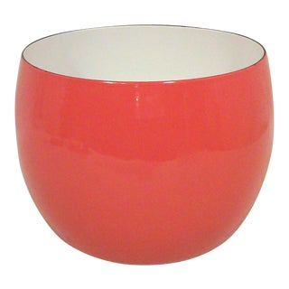 Dansk IHQ Red Enamel Bowl