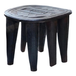 African Vintage Nupe Stool/Table