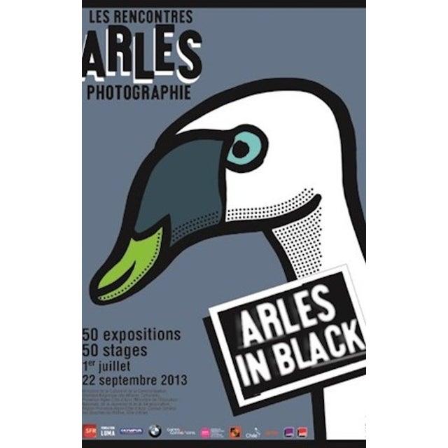 Image of Michel Bouvet Festival Poster - Swan