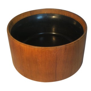 Dansk Teak Bowl With Melamine Lining