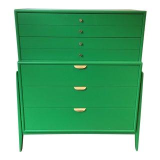 Green Mid-Century Modern Dresser