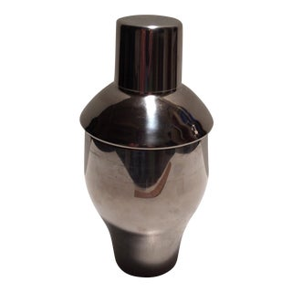 Retro Style Stainless Steel Cocktail Shaker