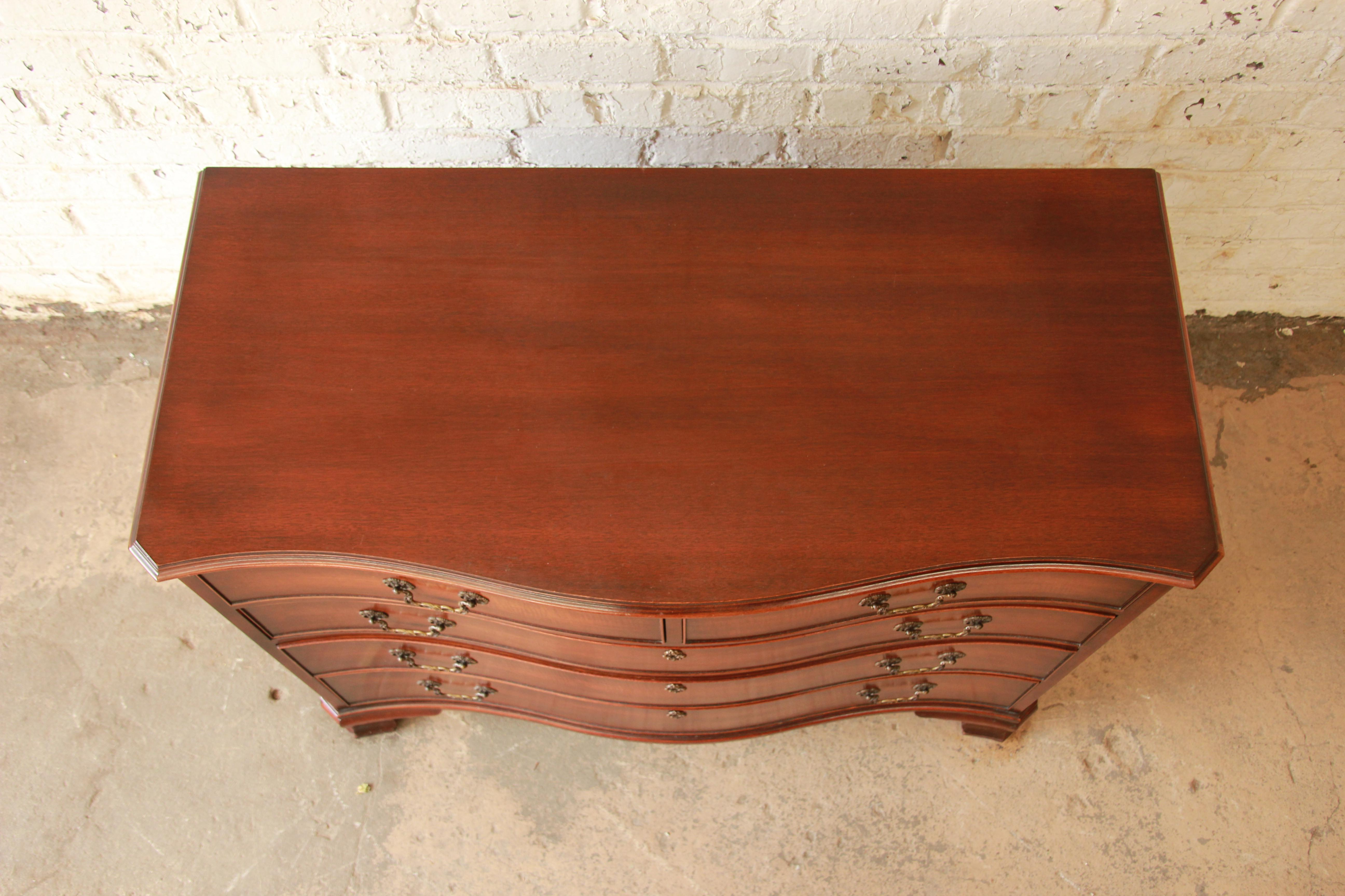 Kindel Furniture Mahogany Chest Of Drawers   Image 5 Of 11
