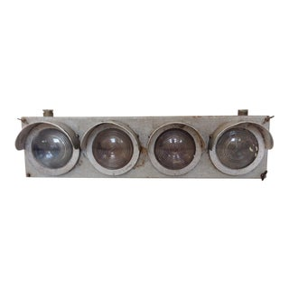 Vintage French Factory Light
