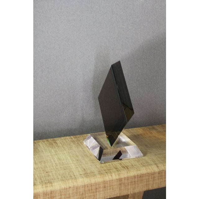 Image of Haziza Acrylic Colorful Geometric Sculpture