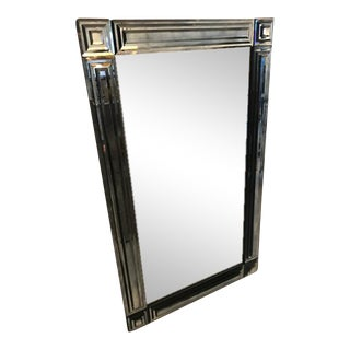 Smokey Blue Bevelled Mirror