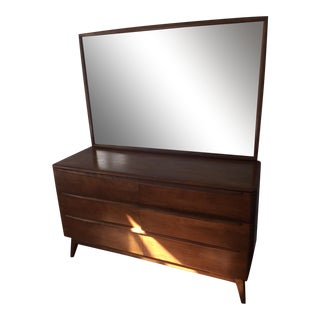 Heywood-Wakefield Encore Series 6-Drawer Dresser With Mirror