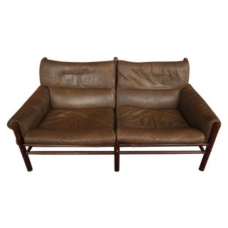 Classic Vintage Arne Norell Sling-Back Love Seat