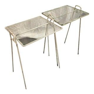 Antique Garden Tables - Pair