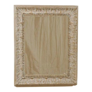 Pair of American Rectangular Mirrors with Venetian Style Frames