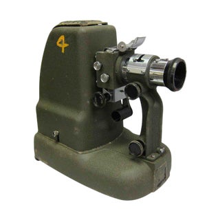 US Army Projector Machine With Case